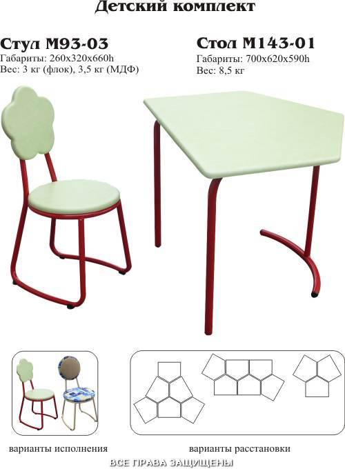 где купить мебель для детского сада